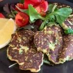 Courgette pannenkoekjes met ricotta