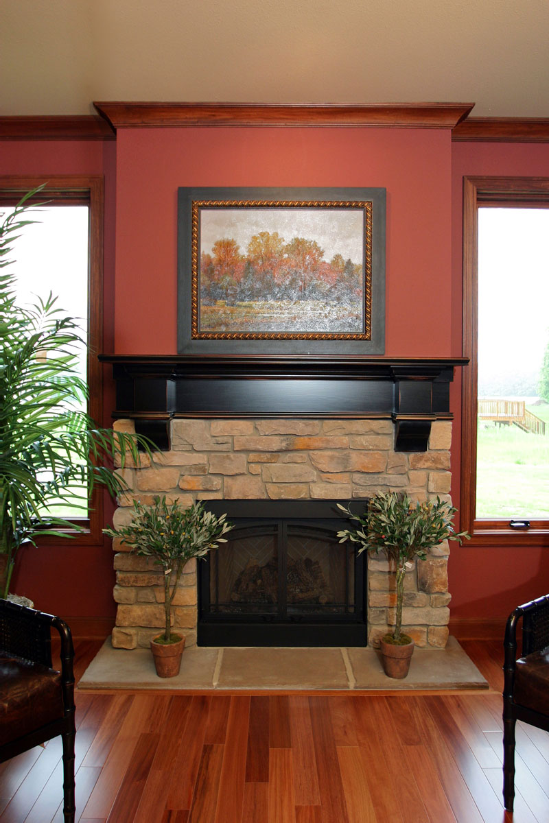 Fireplace mantels in Minocqua, WI