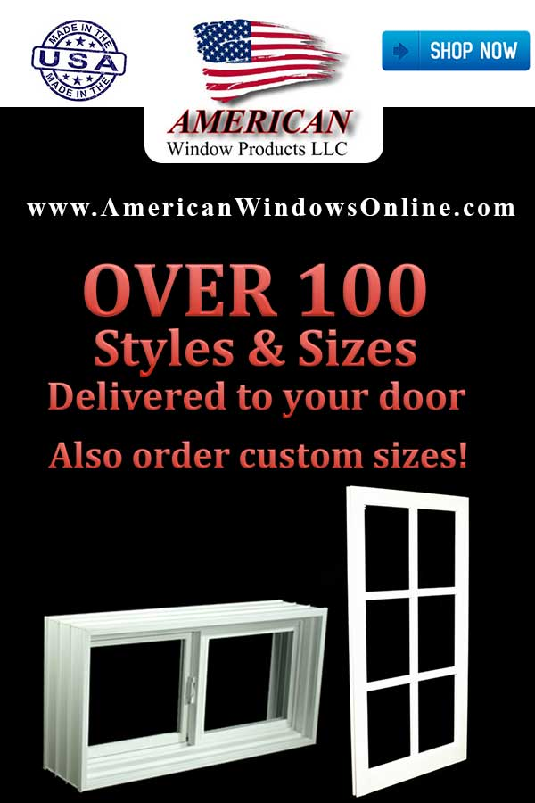 Lowest Prices! Affordable PVC Insulated Single Hung Windows