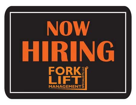 Now Hiring! professional Candidate At Forklift Management Specialists, LLC