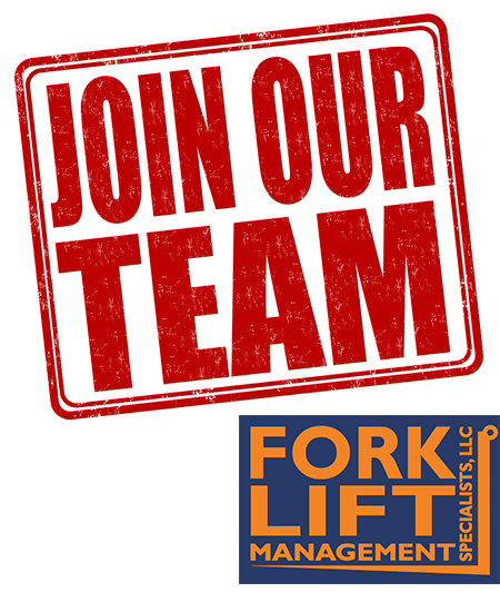 Now Hiring! hard-working Applicant At Forklift Management Specialists, LLC