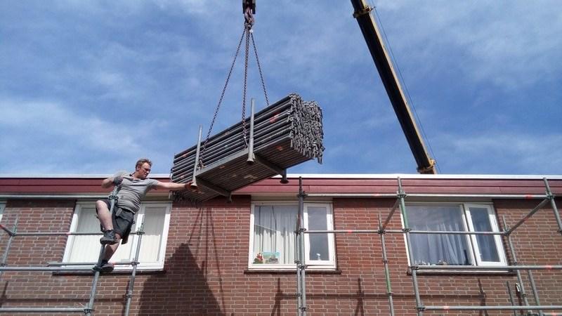 Eerste fase renovatie project tuinenhoven