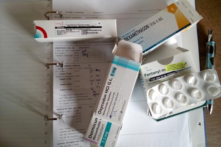 Fentanyl beter bekend als morfine, is verhoogd