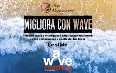 Materiale corso Migliora con WAVE