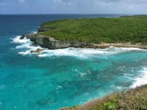Die Nordküste von Grande-Terre