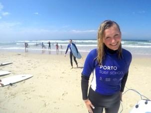 Surfkurs am Praia de Árvore