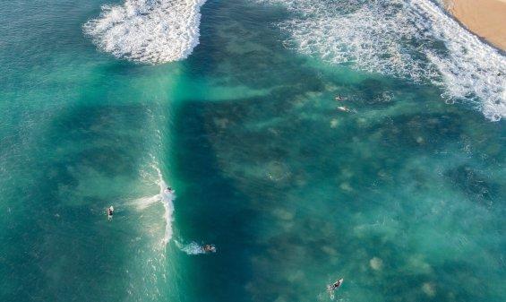 surfing Bingin Dreamland