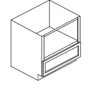 forevermark pepper shaker microwave base cabinet ap b30mw 30w