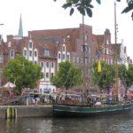 Lübeck. El bosque de ladrillo rojo