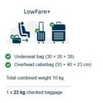Norwegian cambian su política de equipajes