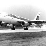 Iberia celebra los 40 años de la incorporación del primer A300