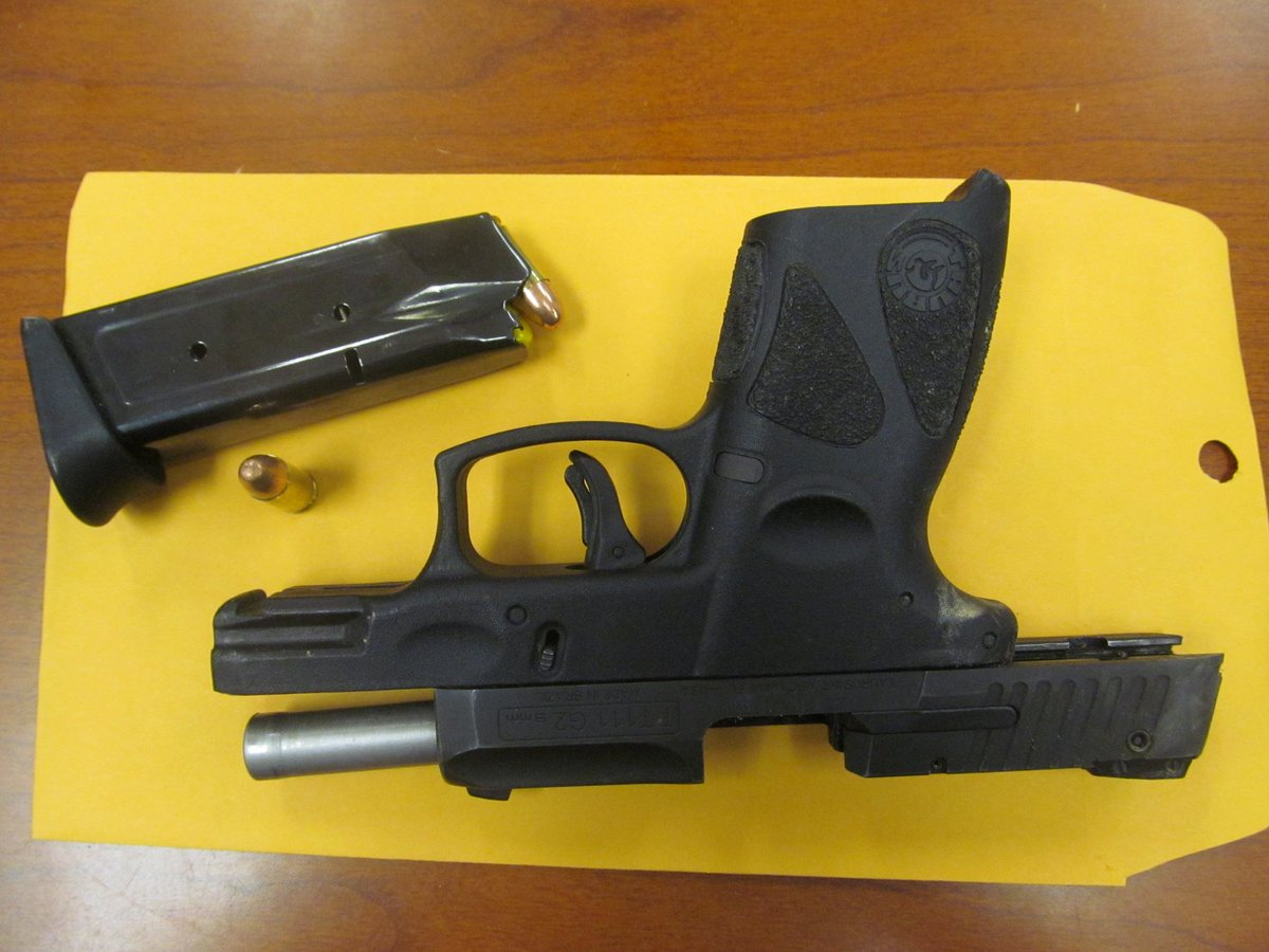 Shots Fired Handgun Seized Teenager Charged Newport News Police