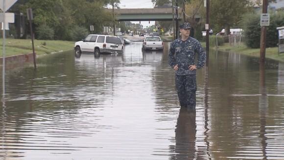 Flooding Elm Avenue Portsmouth