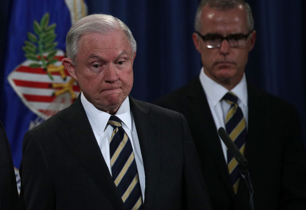 AG Jeff Sessions, Top Officials Announce Major Law Enforcement Actions_717998