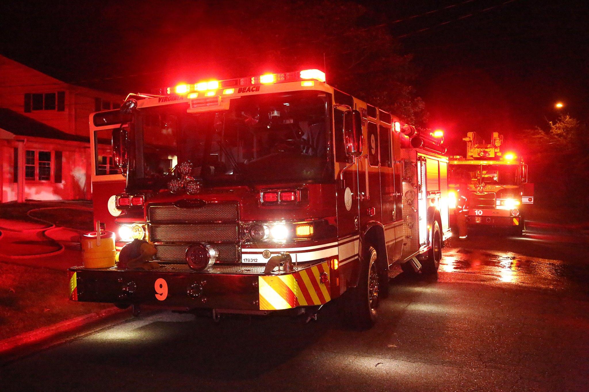 Virginia Beach Fire Whirlaway Road - 3