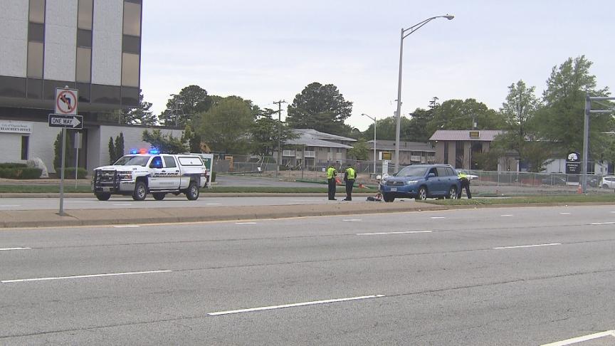 Virginia Beach auto pedestrian crash
