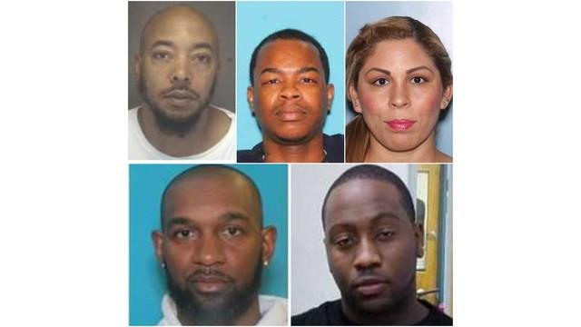 2 Hertford men among 5 arrested after narcotics operation