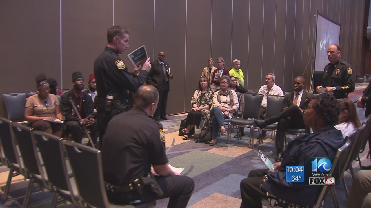 Virginia Beach holds community forum ahead of College Beach Weekend