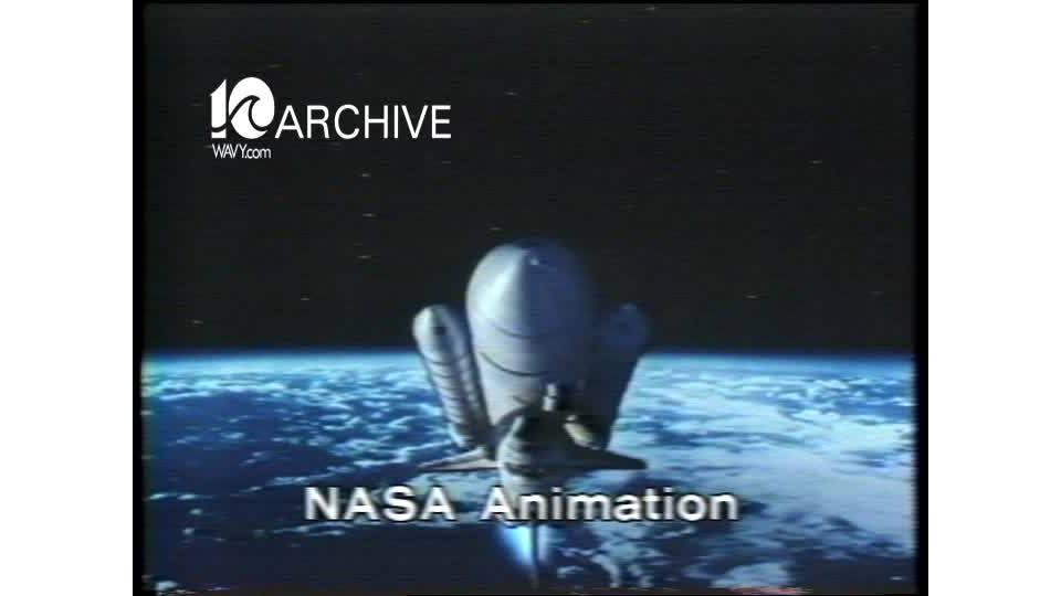 WAVY Archive: 1981 Hampton NASA Shuttle Launch