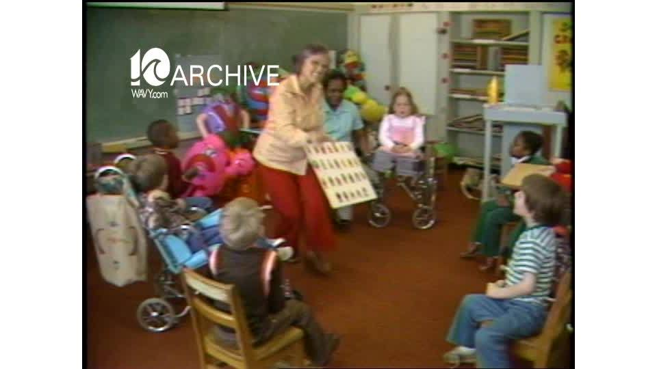 WAVY Archive: 1981 Norfolk Special Education Teachers