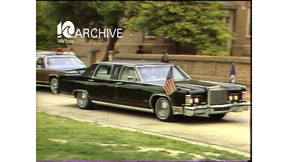 WAVY Archive: 1981 Prince Charles Visits Williamsburg