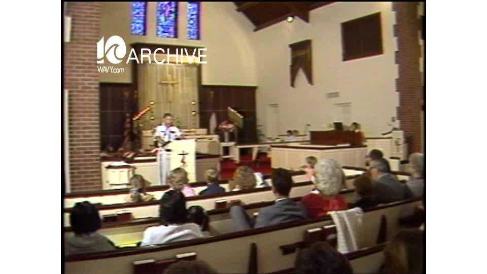 WAVY Archive: 1981 Navy Chapel Special Service
