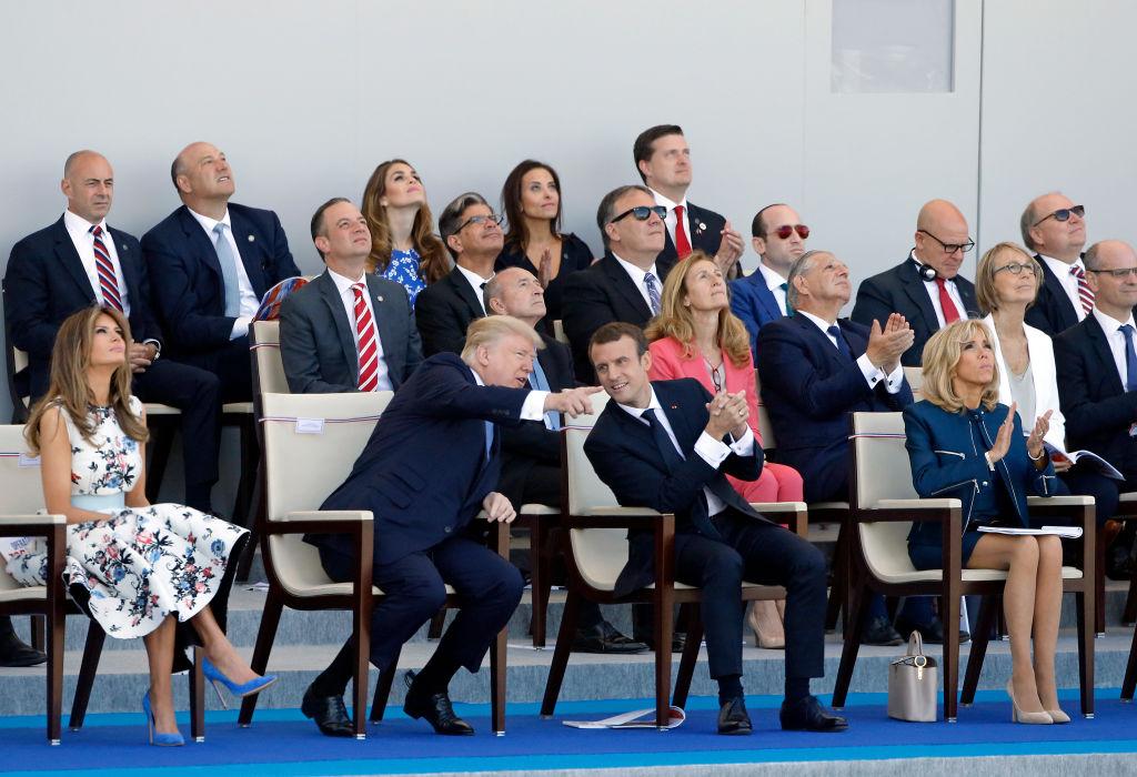 Trump French Bastille parade