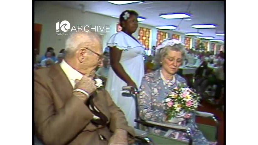 WAVY Archive: 1981 Camelot Nursing Home Wedding