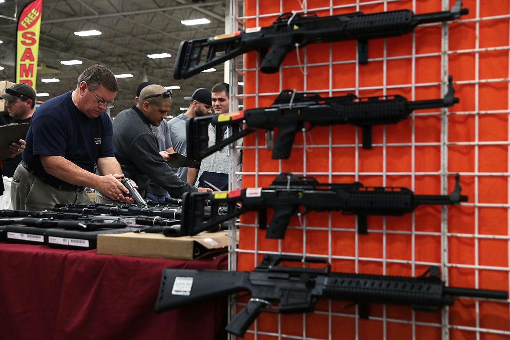 Virginia gun show