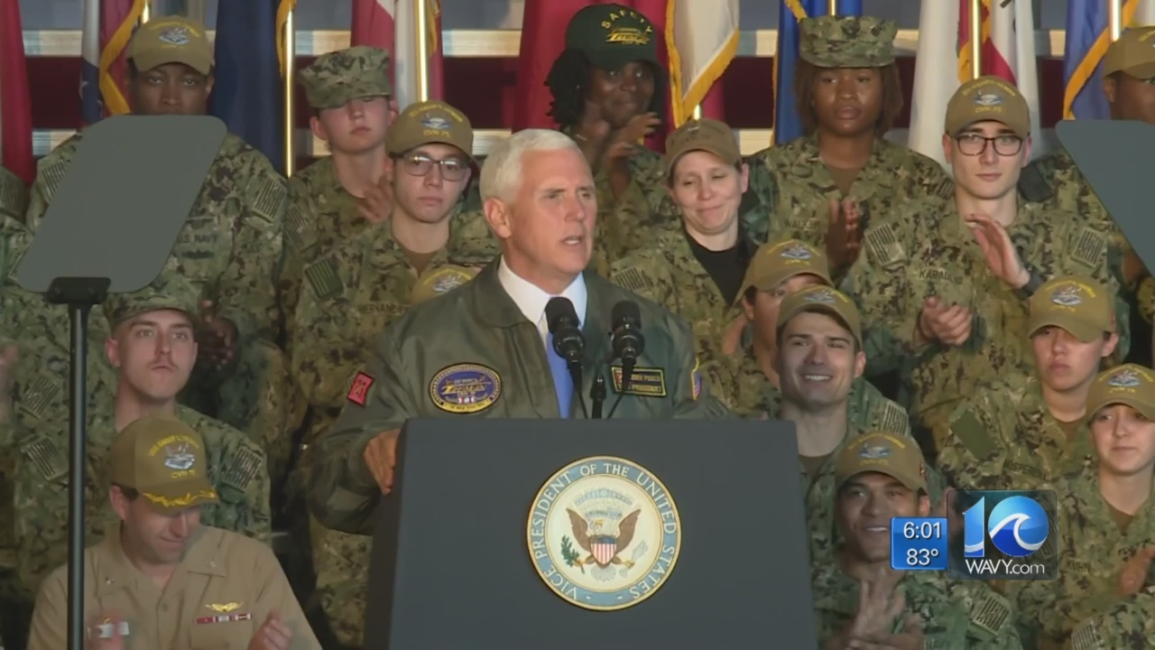 Pence: No early retirement for USS Harry S. Truman