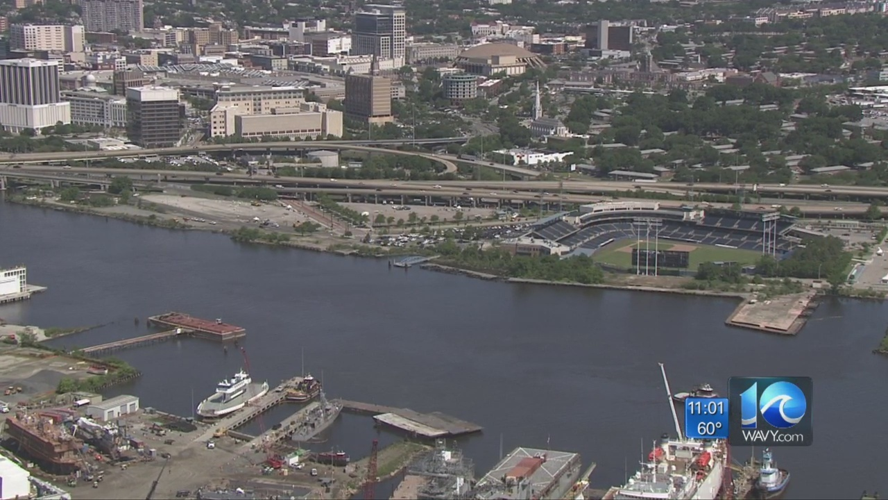New roads, parks and casino included in Norfolk's early Harbor Park plans