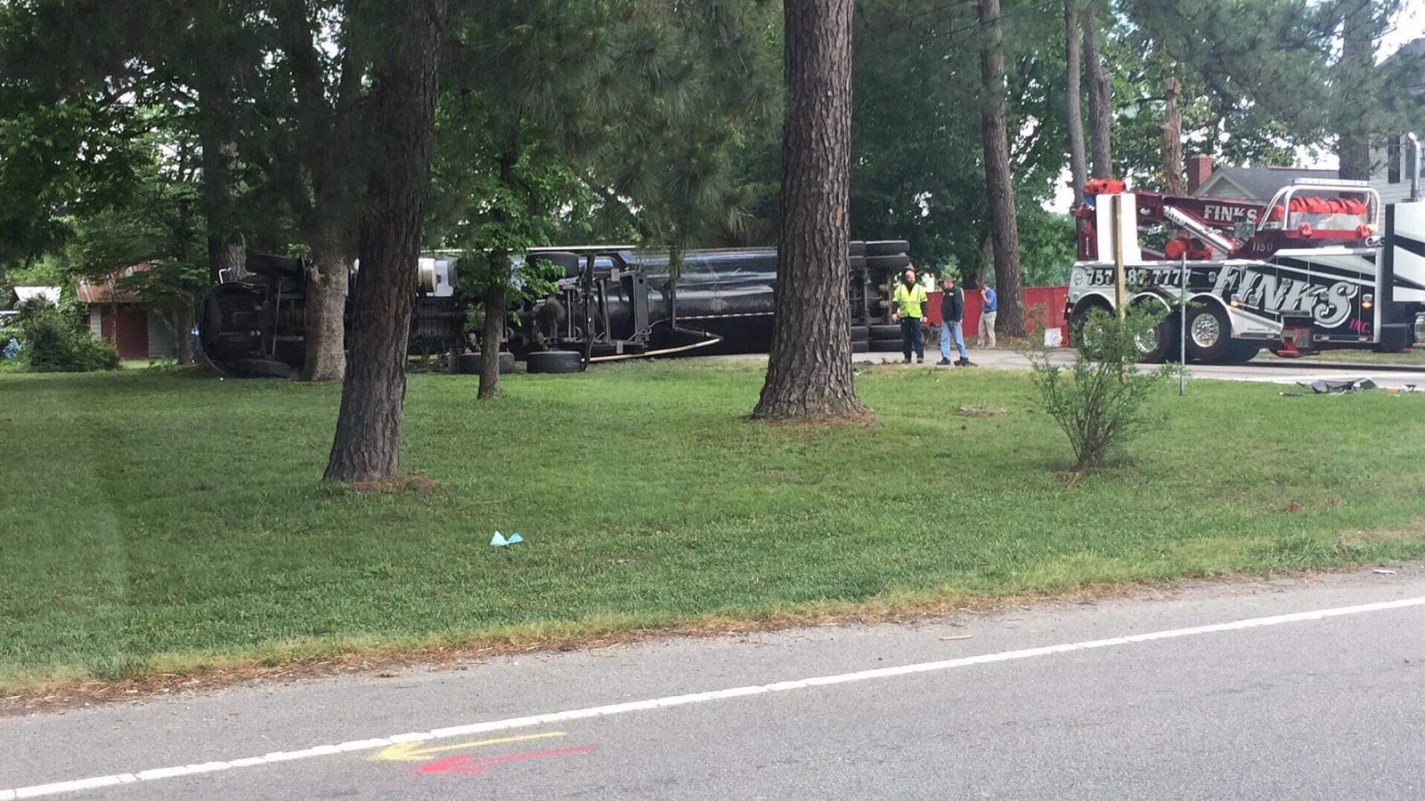 Report: 1 airlifted to hospital following crash in Gates County