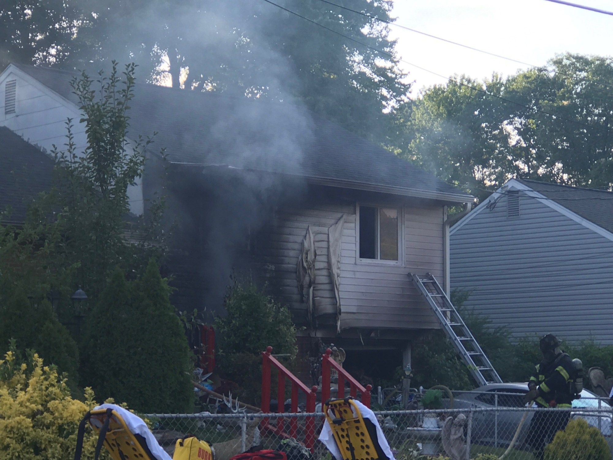Yorkshire Terrace: Crews From Hampton And Newport News Respond To House Fire