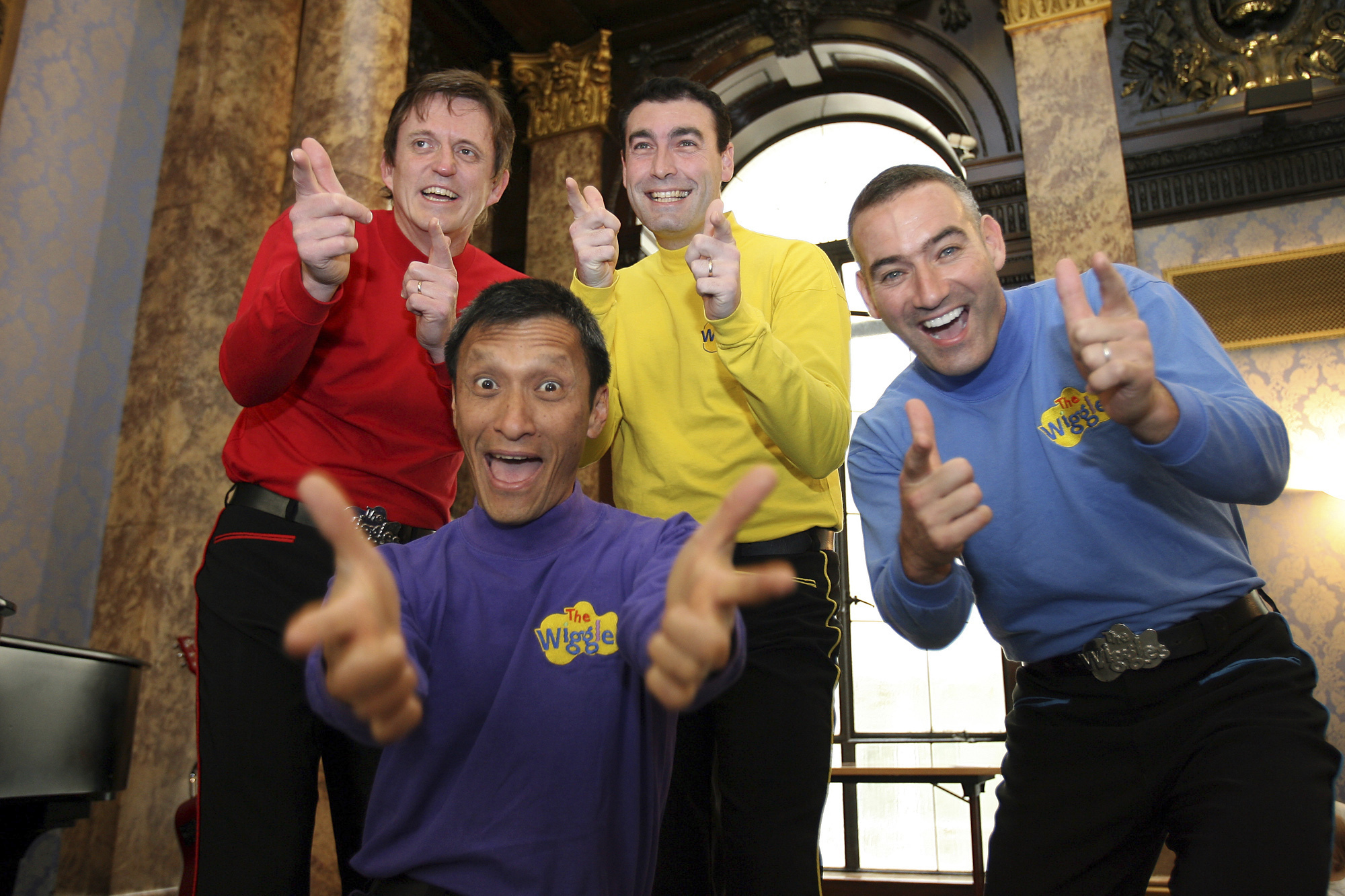 Murray Cook, Greg Page, Jeff Fatt, Anthony Field