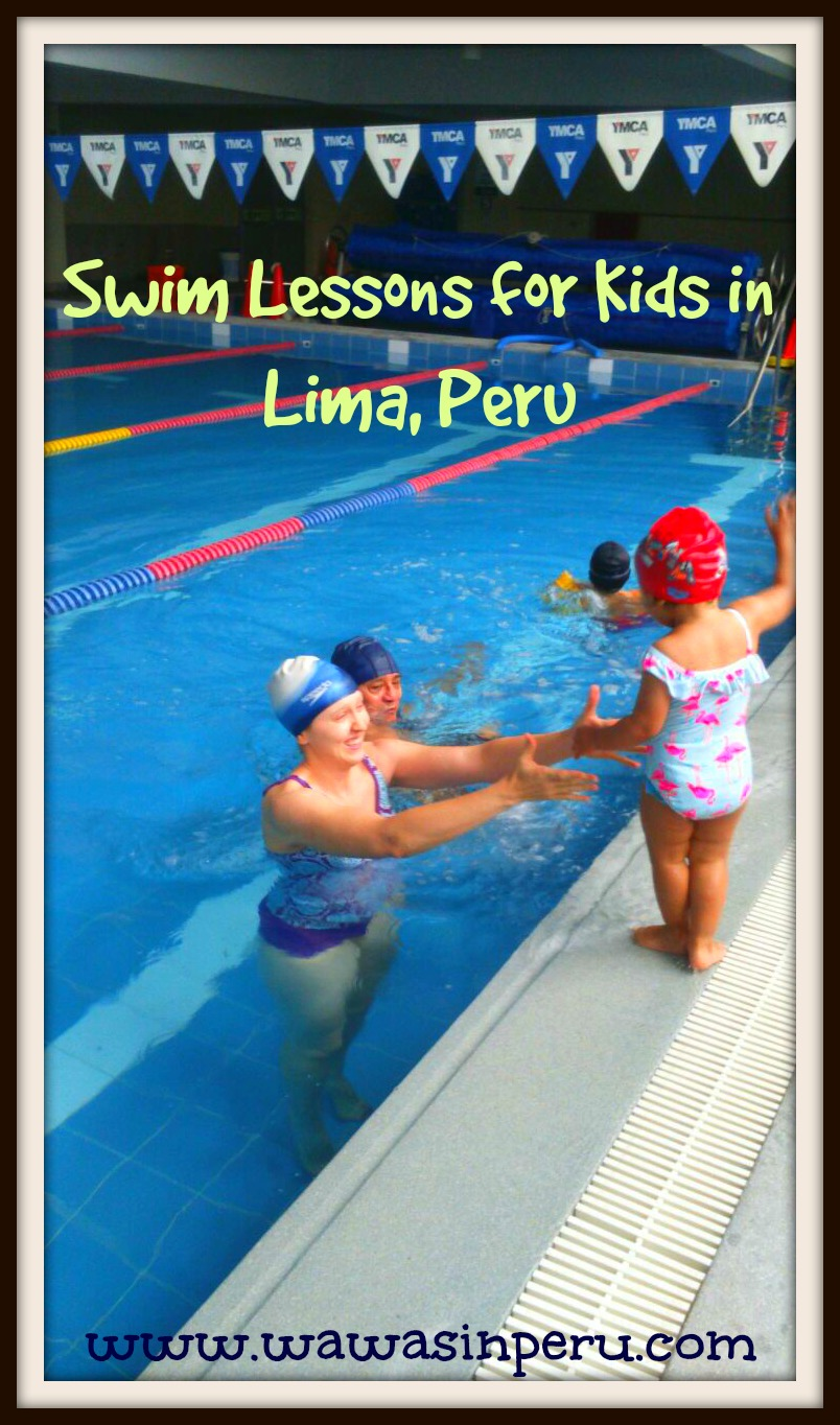 Swim lessons for kids in lima peru wawas in peru for Swimming pool lessons for kids