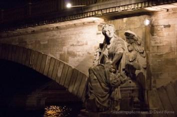 Angel Status on the Pont des Invalides