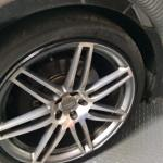 Installation Completed of the AlloyGator. Protecting the Alloy Wheels.