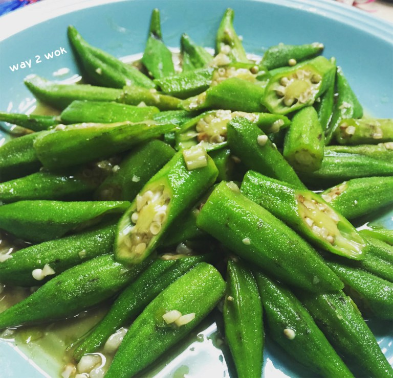Garlic Stir-Fried Okra (蒜炒秋葵)