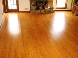 well maintained bamboo flooring