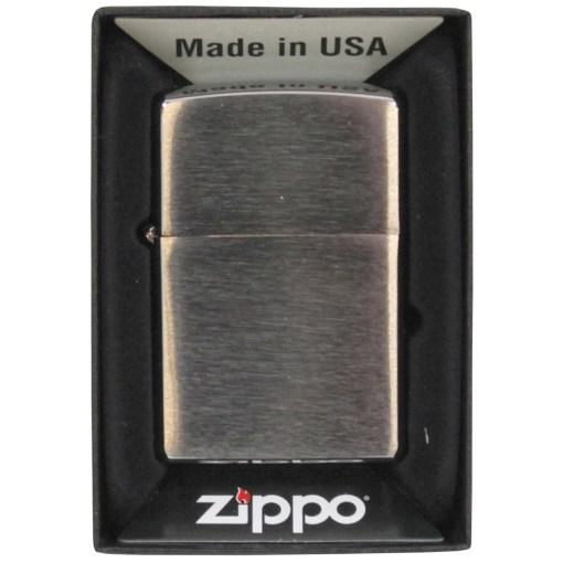 MFH-1103 - Zippo Feuerzeug chrom gebürstet