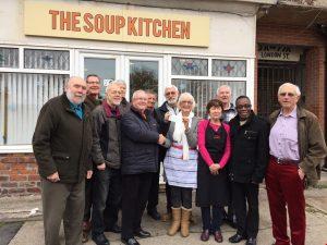 Wayfarers Chorus donate £1,000 to Southport Soup Kitchen