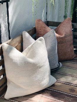 Double Sided Vintage Hemp Pillows