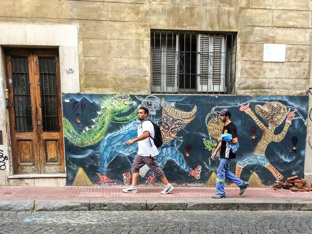 uenoBuenos Aires Street Art San Telmo