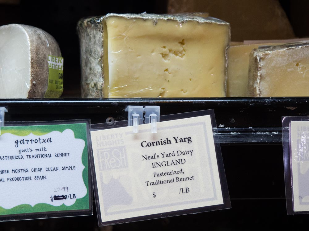Liberty Heights Fresh Cornish Yarg