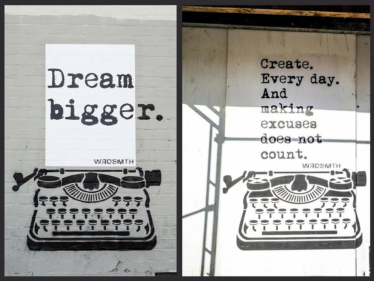 LA Street Art from WRDSMTH