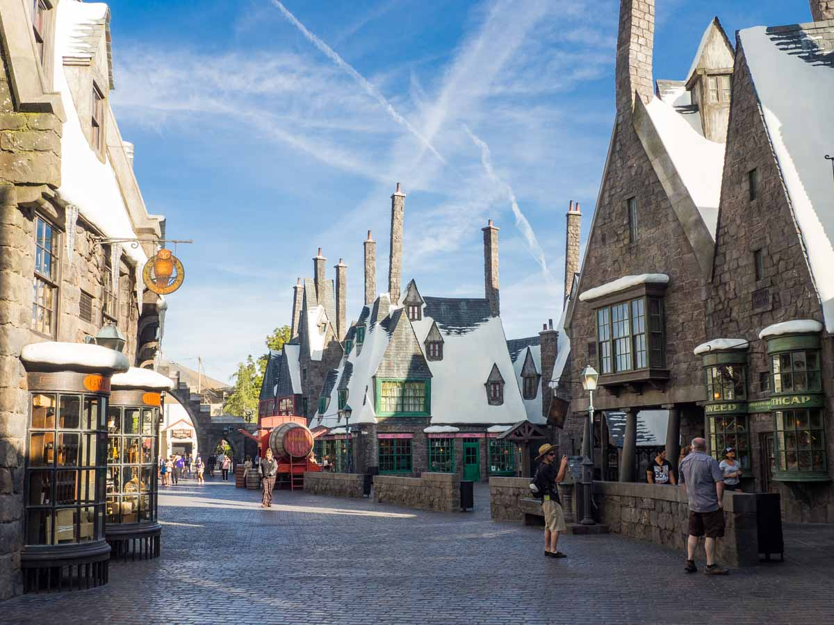 Universal Studios Los Angeles Harry Potter and Hogsmead