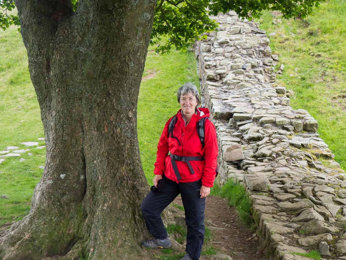 UK Hiking Hadrian's Wall Path Carol Guttery