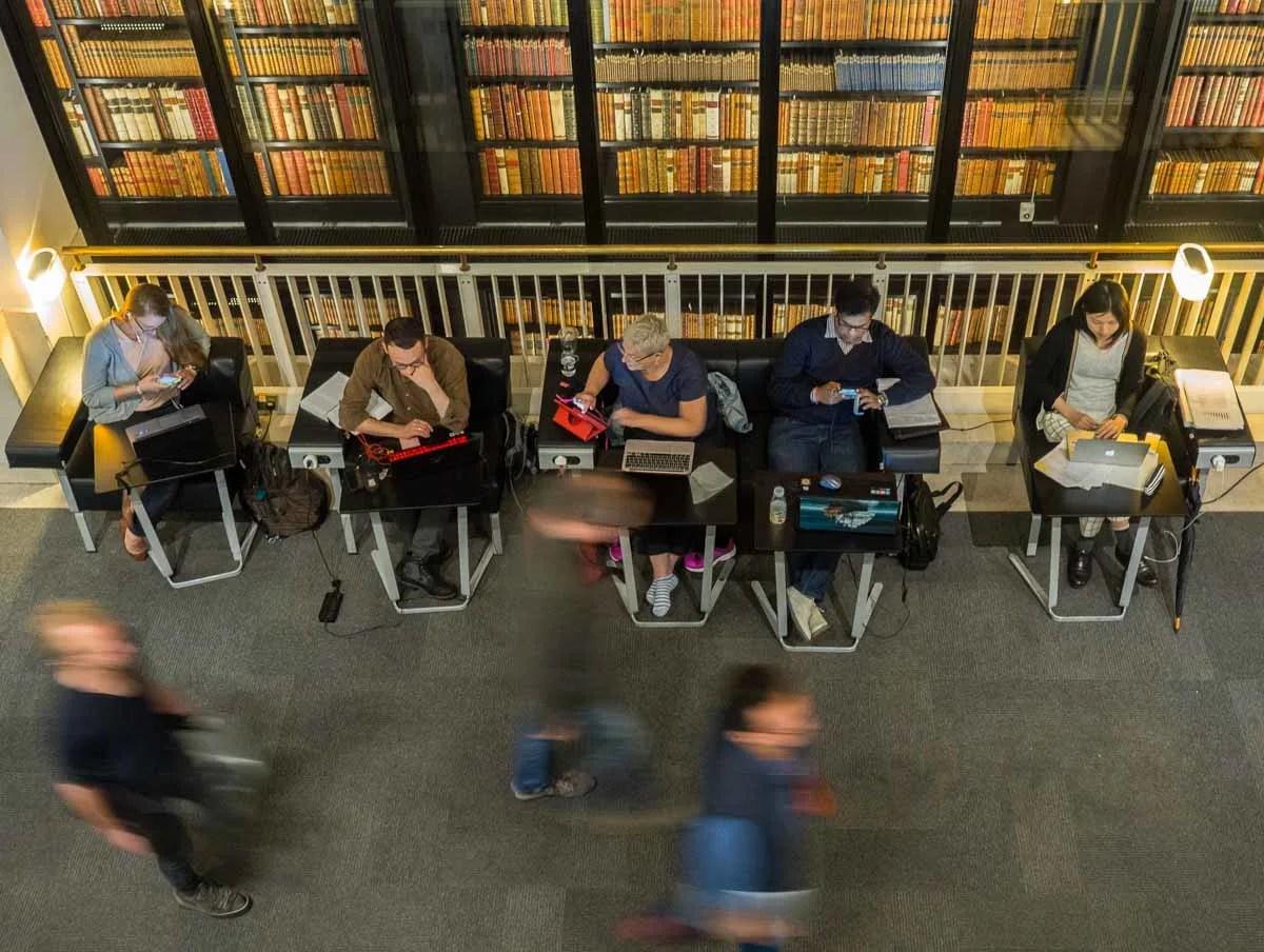 The British Library Literary tour
