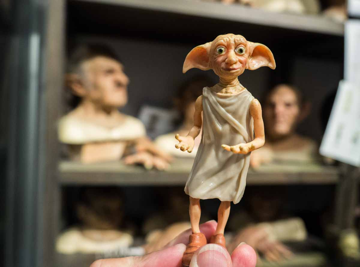 Dobby at Warner Brother Studios