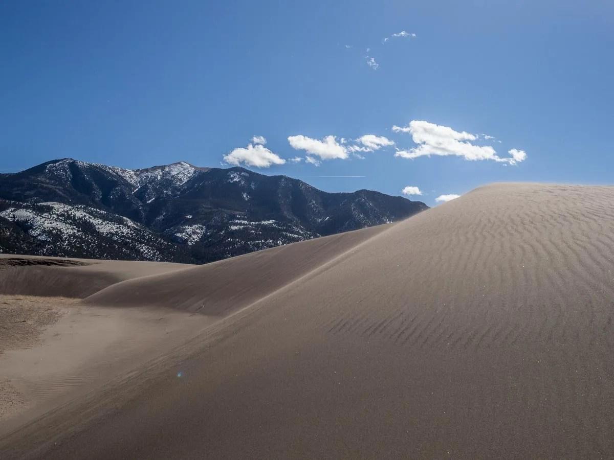 Sand Dunes of Colorado Rockies
